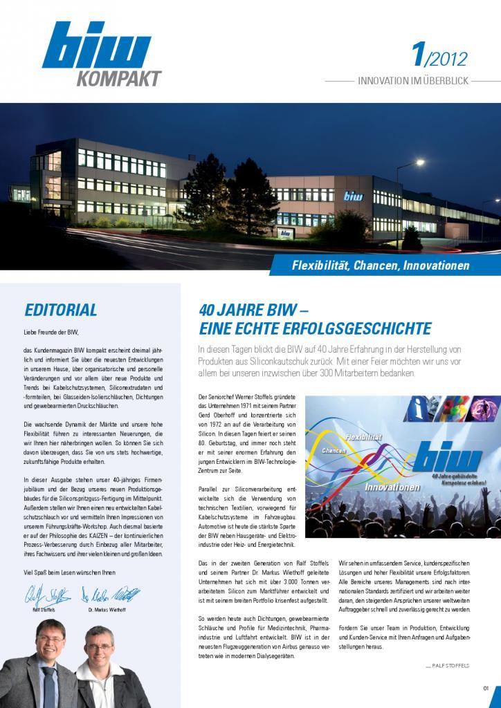 Ausgabe 1 | 2012