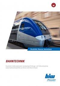 Branchenprospekt Bahntechnik