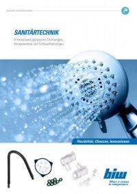 Branchenprospekt Sanitärtechnik
