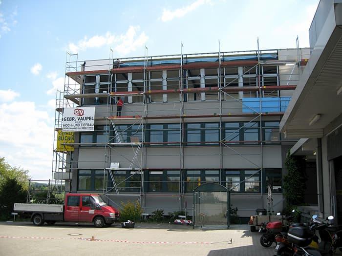 2008 Heightening of Office Building