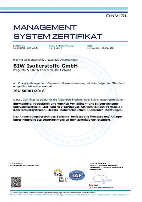 ISO 50001 (Energie)